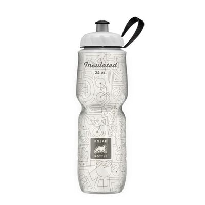 Polar Bike Lines 24oz Insulated Waterbottle