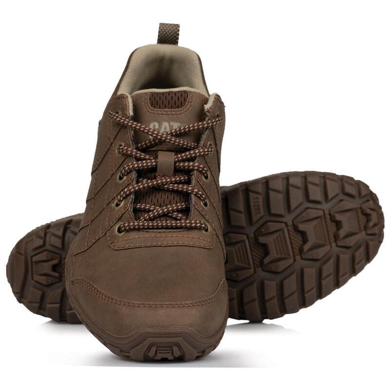 Caterpillar Men's Instruct Shoe -  brown-brown