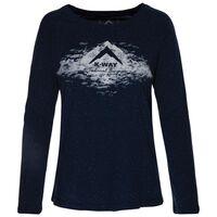 K-Way Women's Raglan T-Shirt  -  navy
