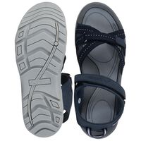 K-Way Women's Lily Sandal  -  navy-lightgrey