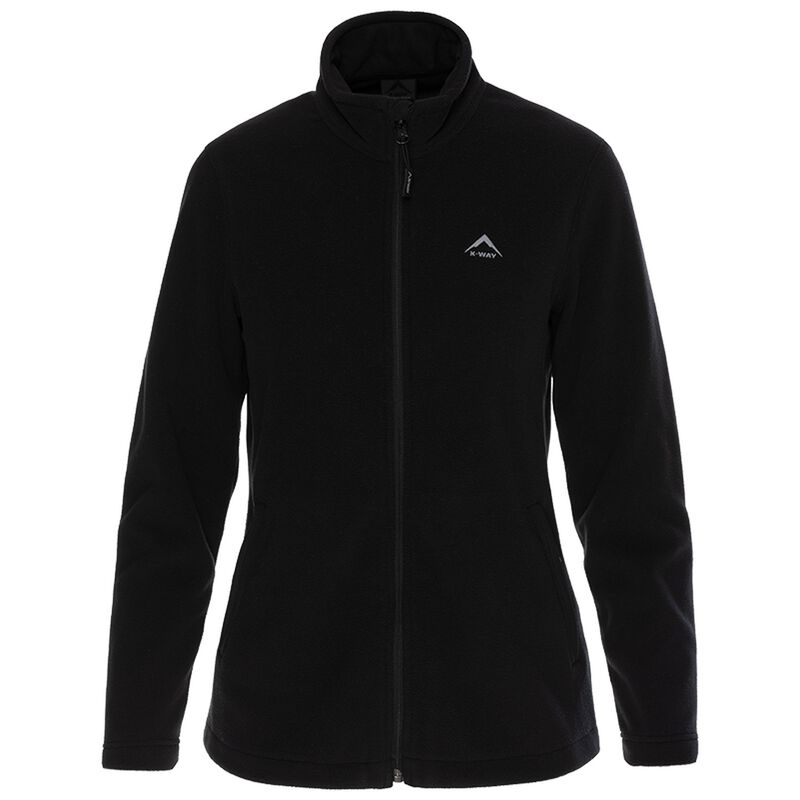 K-Way Women's Viola Recycled Fleece Jacket -  black