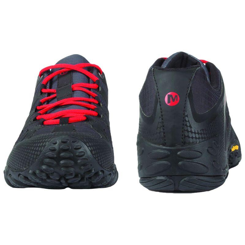 Merrell Men's Chameleon 2 Flux Hiking Shoe -  black-red