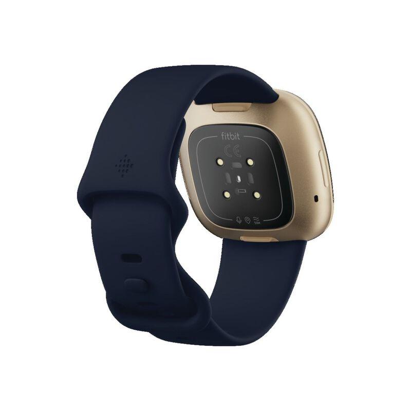 Fitbit Versa 3 Watch -  navy-gold