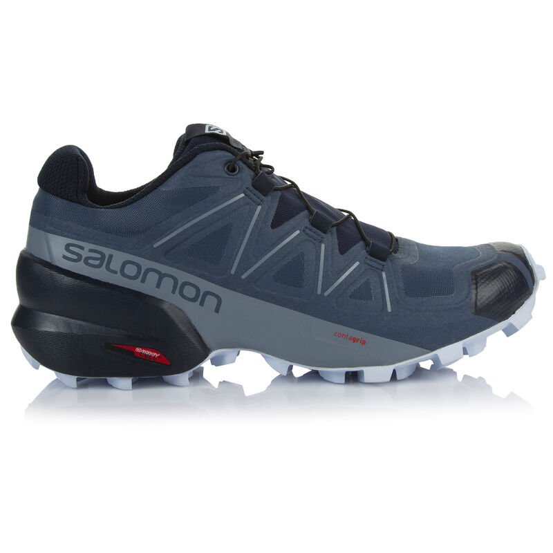 Salomon Women's Speedcross 5 Shoe -  blue-iceblue