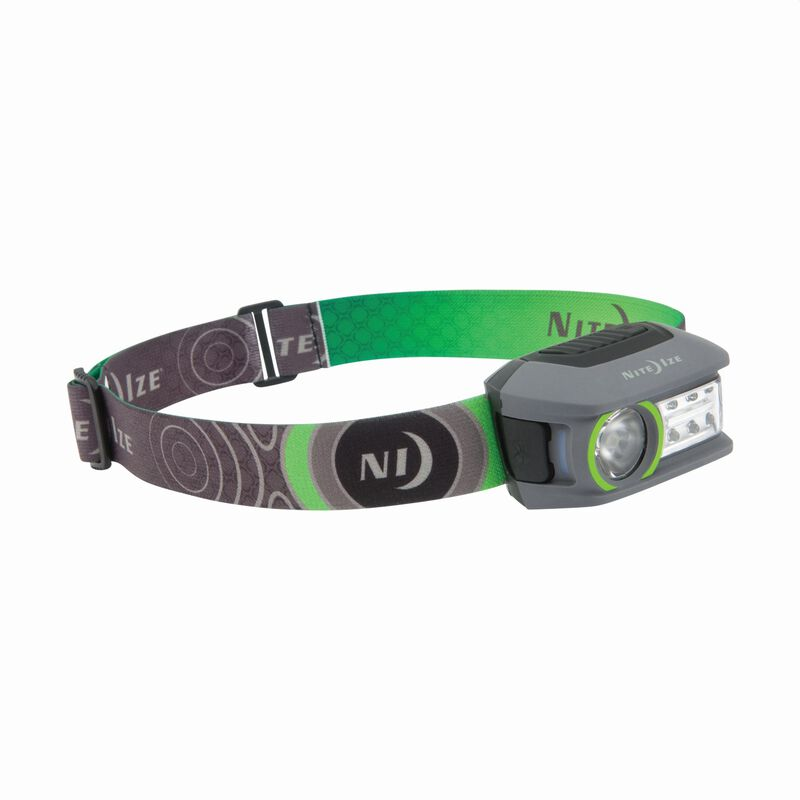 Nite Ize Radiant 250 Rechargeable Headlamp -  black