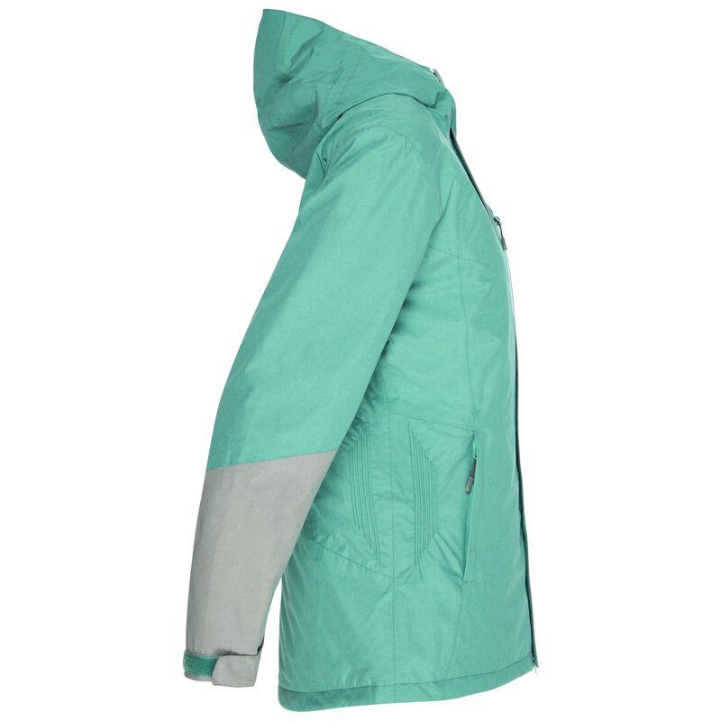 K-Way Women's Snowball Ski Jacket  -  duck-egg-grey