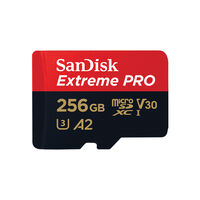 Sandisk Extreme Pro microSDXC 256GB + SD Adapter -  c00
