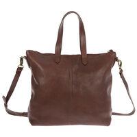 Rare Earth Tatum Leather Shopper -  brown