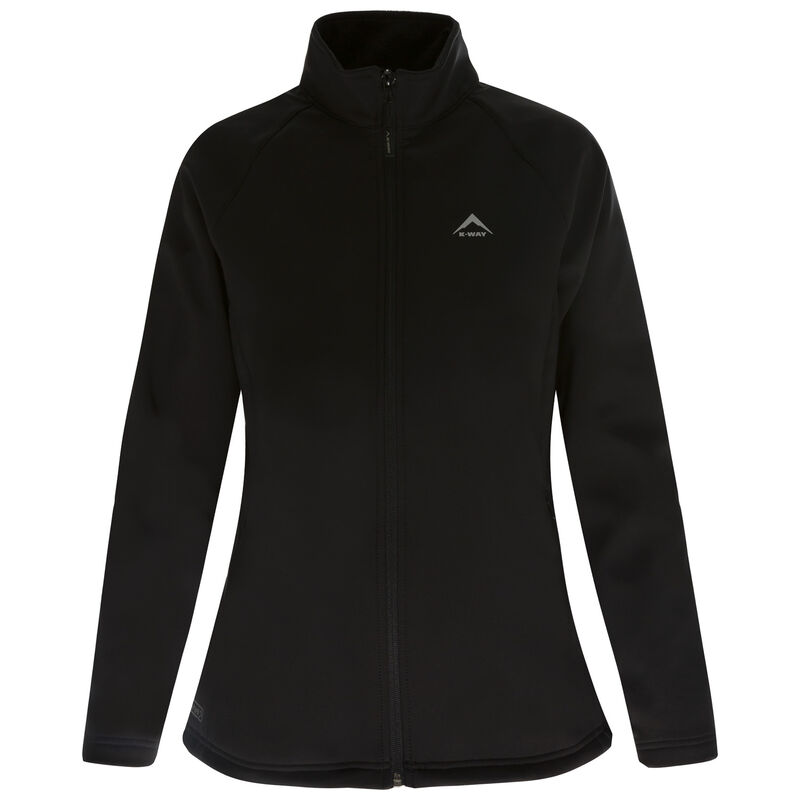 K-Way Women's Mira '19 Softshell Jacket  -  black