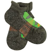 Balega Blister Resist No Show Sock -  charcoal-lime