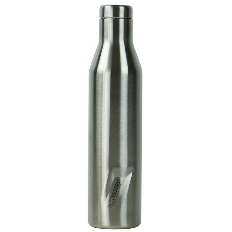 Ecovessel 750ml Aspen Flask -  silver