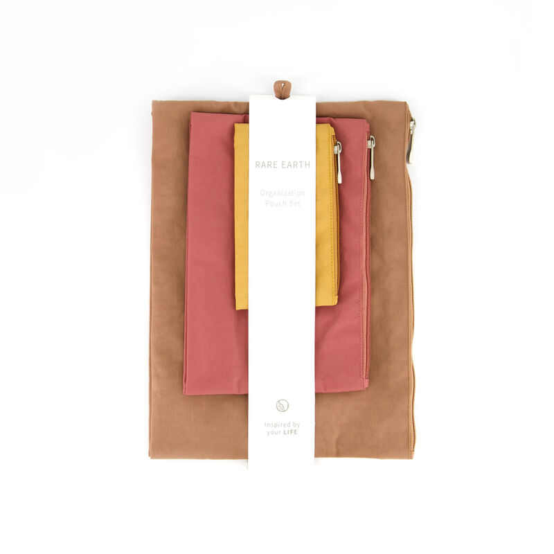 Rare Earth Organisation Pouch Set -  assorted