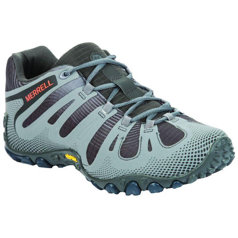 Merrell Men's Chameleon 2 Flux Hiking Shoe -  grey-black