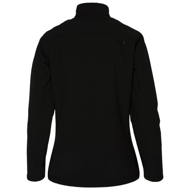 K-Way Women's Lori '19 Softshell Jacket  -  black