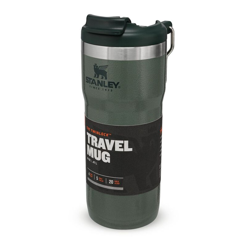 Stanley 0.47L Classic Twin-Lock Travel Mug  -  green