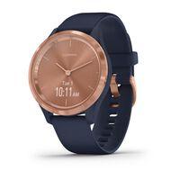 Garmin Vivomove 3S Sport Watch -  navy-rose