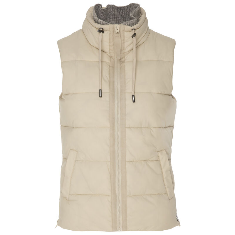 Babs Women's Sleeveless Puffer -  milk