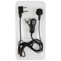Midland Earphone Mic 2Pin -  nocolour
