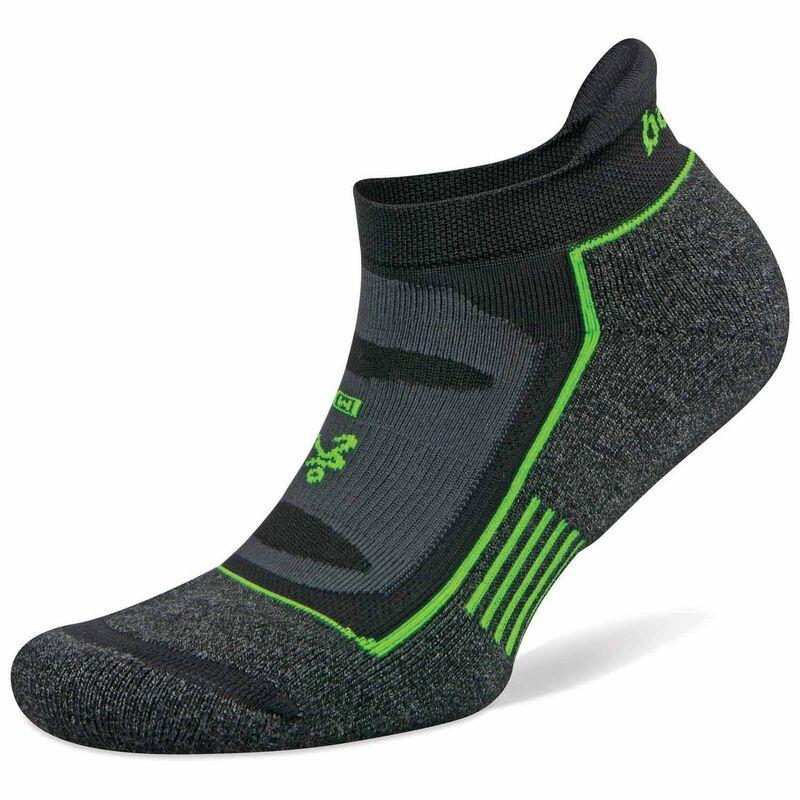 Balega Blister Resist No Show '19 Sock -  black-green