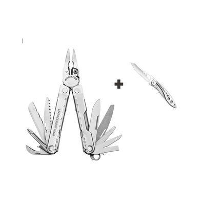 Leatherman Rebar Heritage and Free Leatherman Skeletool KBx Knife