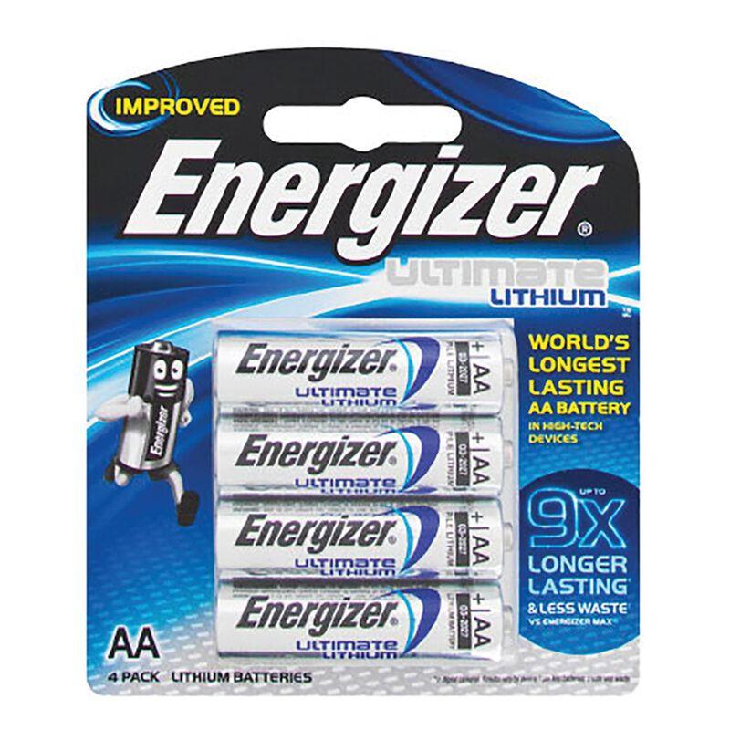 Energizer Lithium E2 4AA Batteries -  nocolour