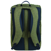 K-Way Carry On 40 Plus Luggage Backpack -  olive-black