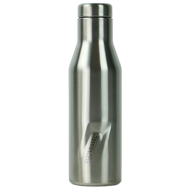 Ecovessel 473ml Aspen Flask -  silver