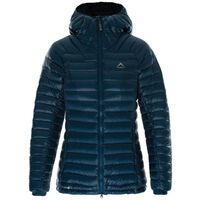 K-Way Women's Martine Hooded Jacket -  turquoise