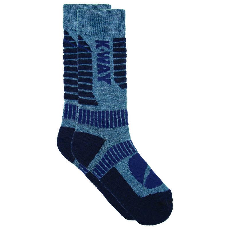 K-Way Hiker '19 Sock -  blue-navy