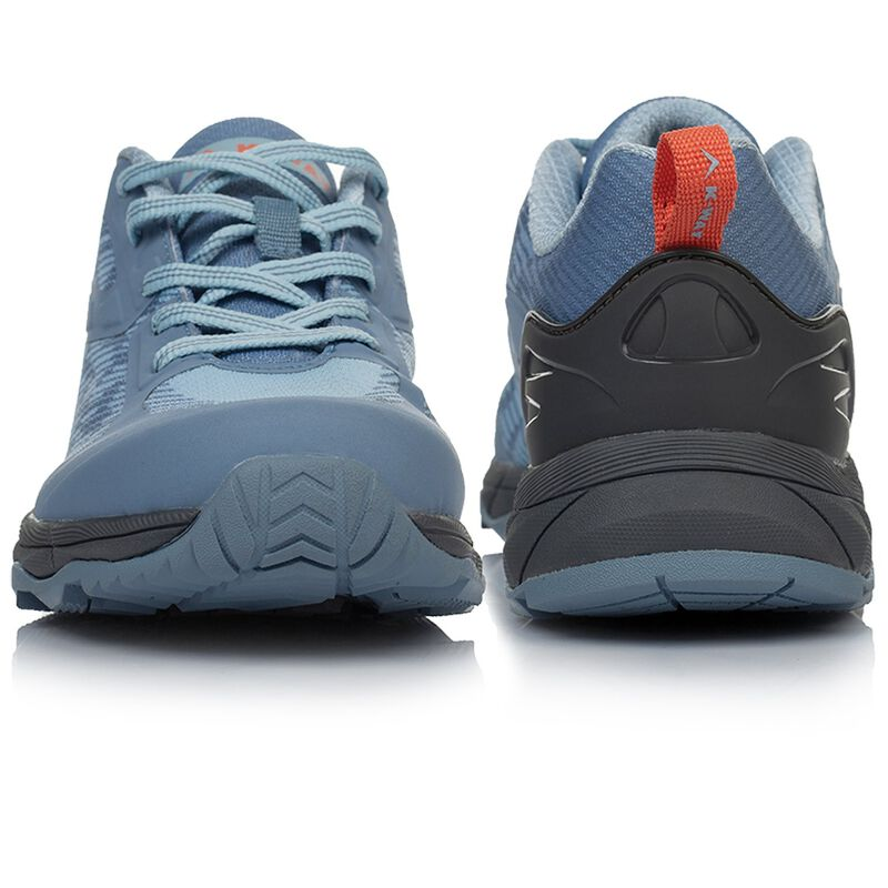 K-Way Apex L Shoes (Ladies) -  lightblue-charcoal