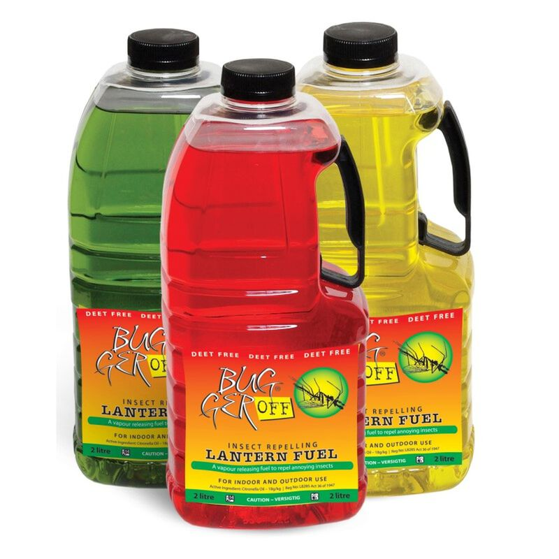 BuggerOff Torch Fuel 2L -  yellow