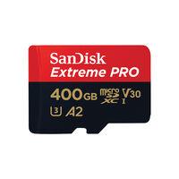 Sandisk Extreme Pro microSDXC 400GB + SD Adapter -  c00