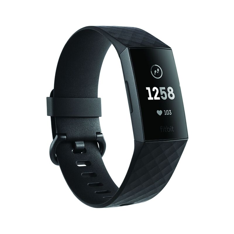 Fitbit Charge 3 Watch -  graphite-black