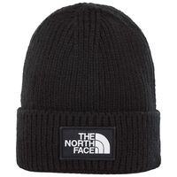 The North Face TNF Logo Box Cuffed Beanie -  c01
