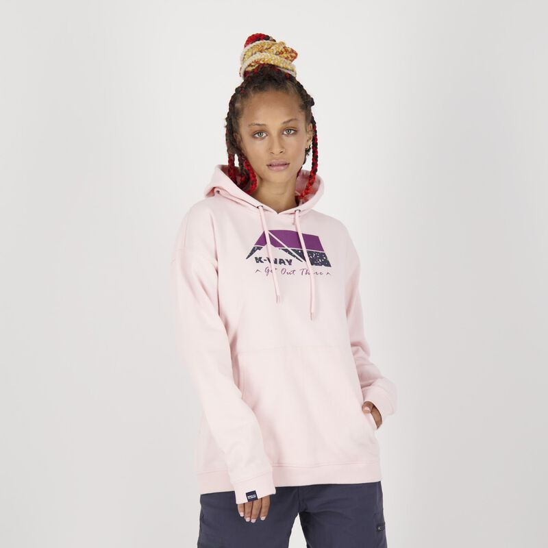K-Way MMXXI Women's Madison Pullover Hooded Top -  dc3400