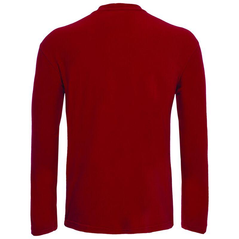 K-Way Men's Straus Crewneck Fleece  -  red