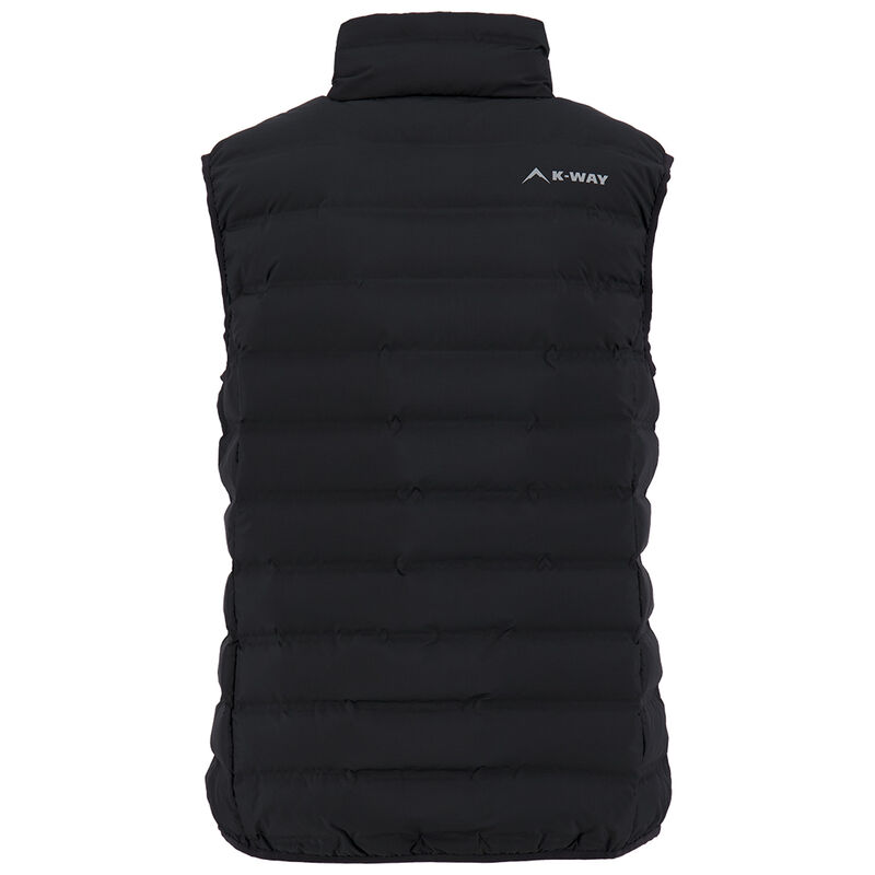 K-Way Women's Signa Down Vest -  black