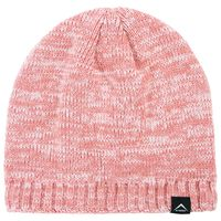 K-Way Unisex Triad Marl Beanie -  dustypink-lightpink