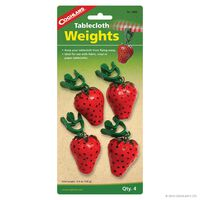 Coghlan's Tablecloth Weights -  red