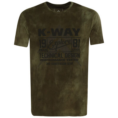 K-Way Men's Experience S19.3 T-Shirt