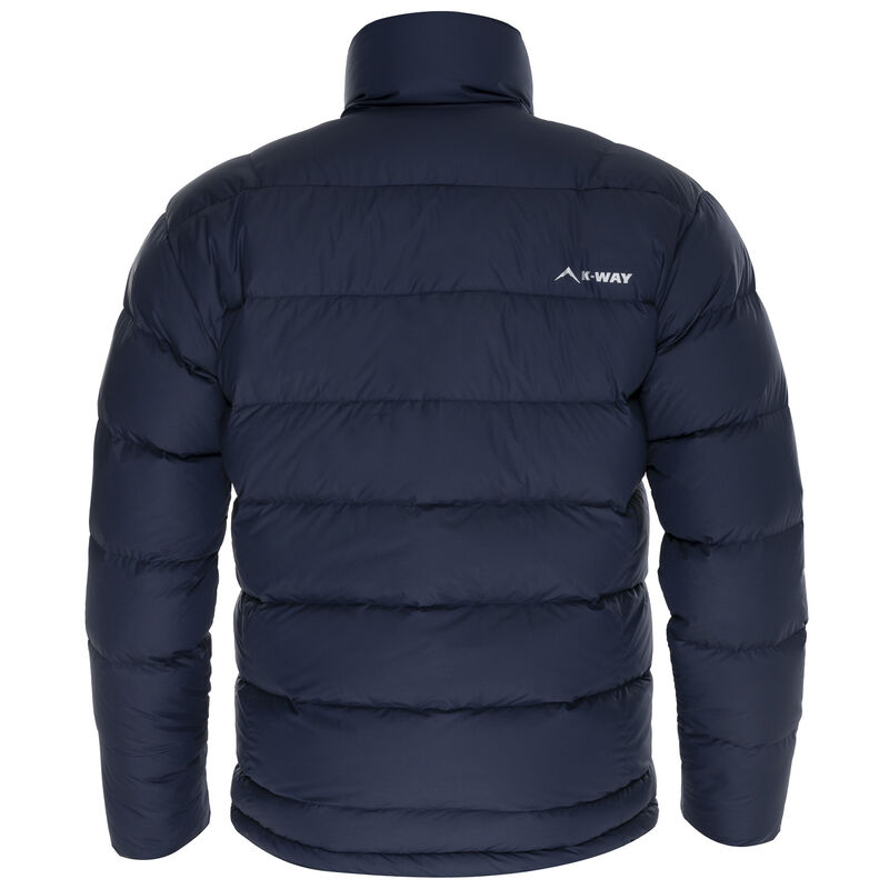 K-Way Men's Siberia '18 Down Jacket -  navy-navy