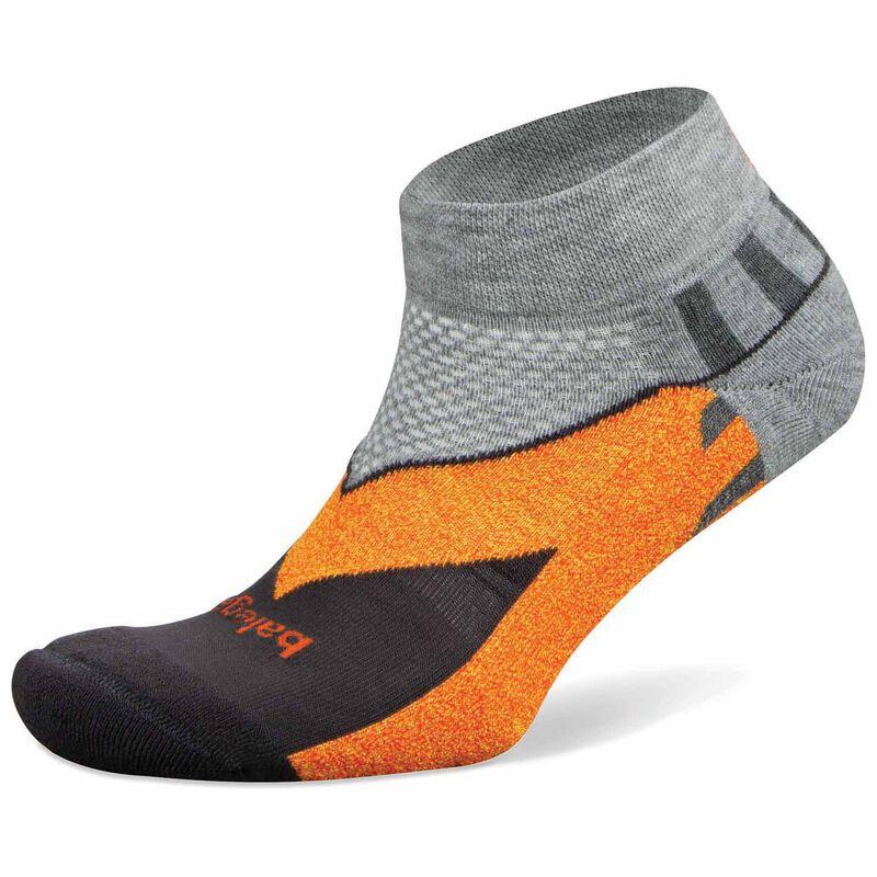 Balega Unisex Enduro Low-Cut Socks -  grey-orange