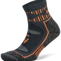 Balega Blister Resist Quarter Sock -  grey-orange