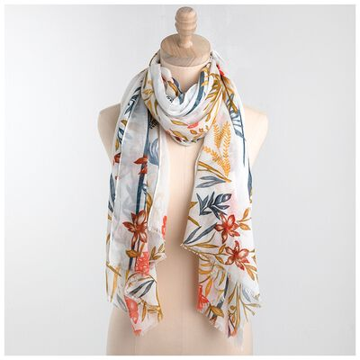 Rare Earth Gloria Floral Scarf