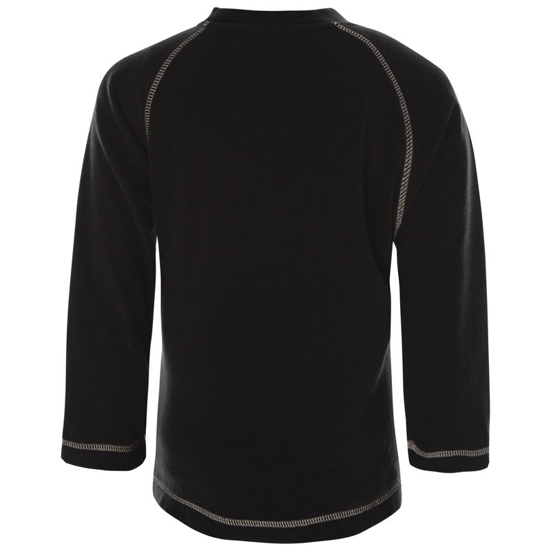 K-Way Kids Hawk Crewneck Fleece  -  black-silvergrey