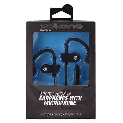 Volkano Circuit Hook-On Earphones