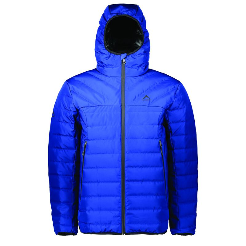 K-Way Men's Harlow Down Jacket  -  blue