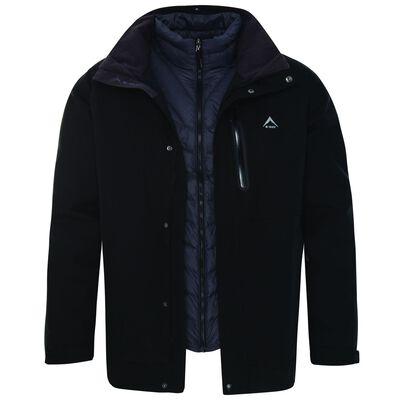 K-Way Men's Orion 3 in 1 Jacket
