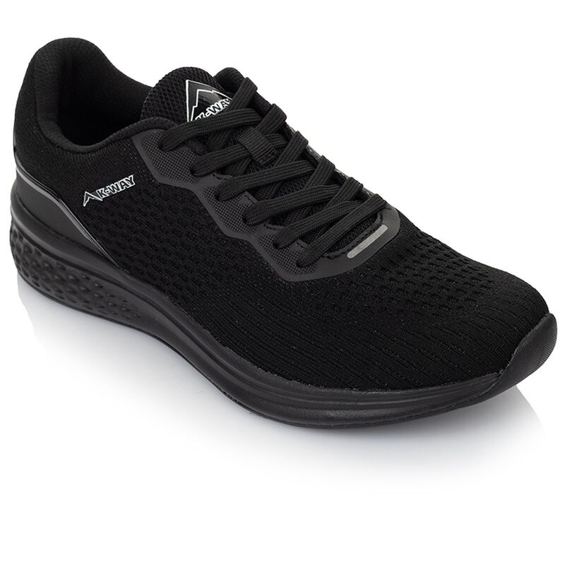 K-Way Men's Griffin Shoe -  black-black
