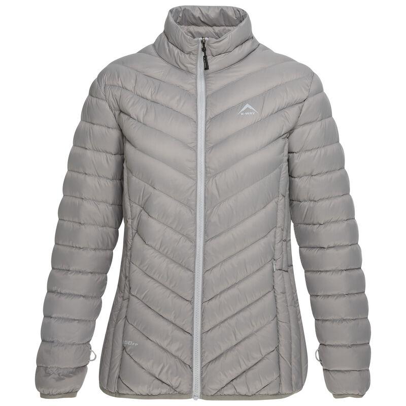 K-Way Women's Libra 3 in 1 Jacket -  black-silver